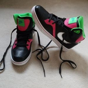 Nike high-tops hip/hop shoes Court Tranxition